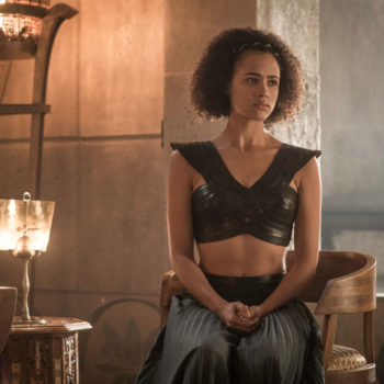 "You need to see what Missandei is wearing in these ""Game of Thrones"" Season 7 leaked photos"
