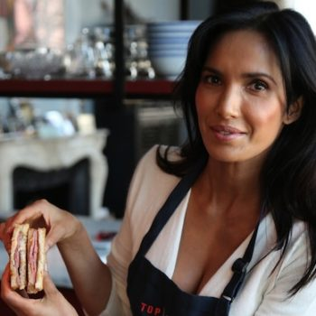 This sandwich from Top Chef's Padma Lakshmi is giving us serious #sandwichgoals