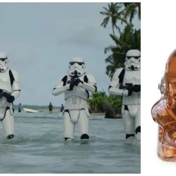 "Go ahead and buy this ""Star Wars"" Stormtrooper decanter *immediately*"