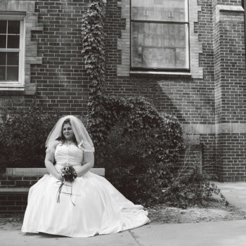 "Why I forgot I was ""fat"" on my wedding day"