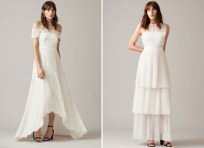 This British line just launched their first wedding dress collection and it's boho beautiful (and totally affordable, too)
