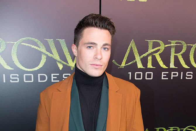 Colton Haynes' Halloween costume is definitely the most outrageous one we've seen yet