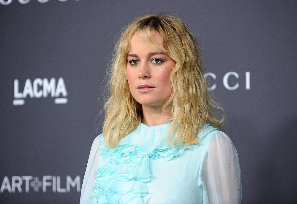 Brie Larson's all teal sheer gown has us speechless