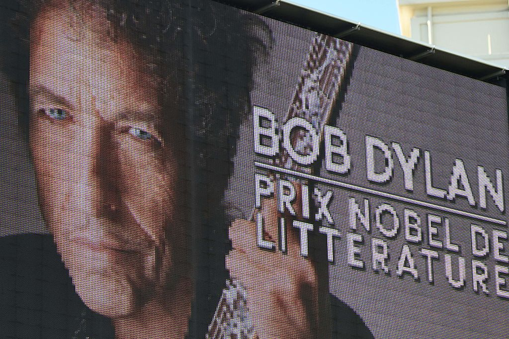 The Nobel Prize Committee finally found Bob Dylan, which is very good news