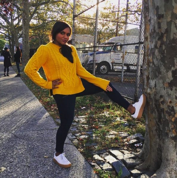 Mindy Kaling's Halloween costume is hilarious perfection