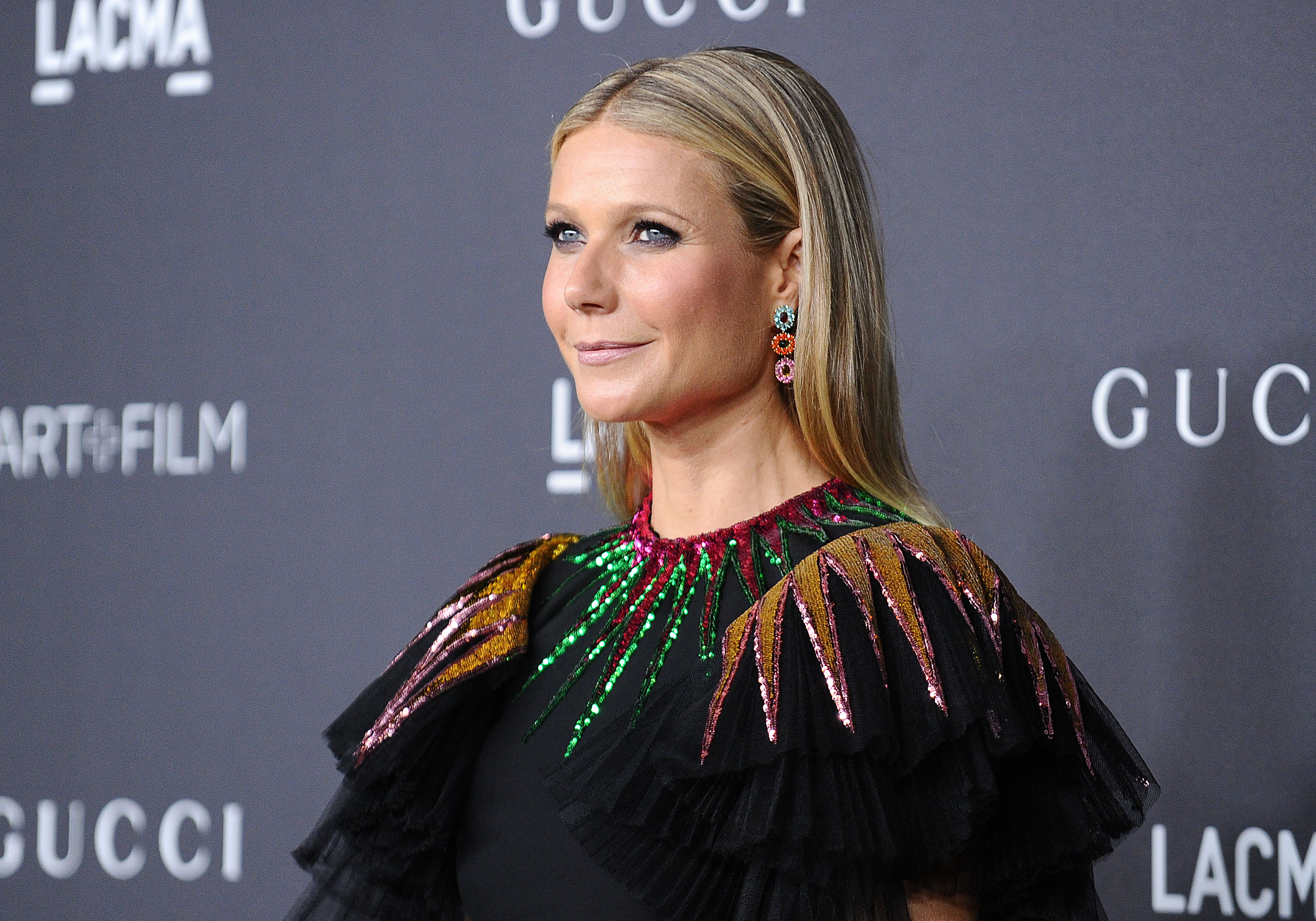 Gwyneth Paltrow wore a stunning dress that's an exciting twist on the LBD
