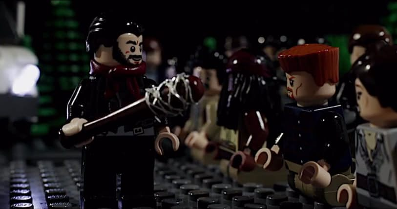 """THAT scene from """"The Walking Dead"""" was just remade with Legos, and we can't look away"""