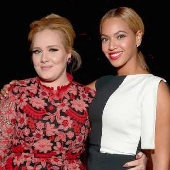 Beyonce said this unexpected thing about Adele, and we're obsessed with it