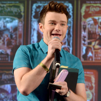 """Chris Colfer's next book is sort of inspired by """"Glee"""" so it's time to start Gleeking out!"""