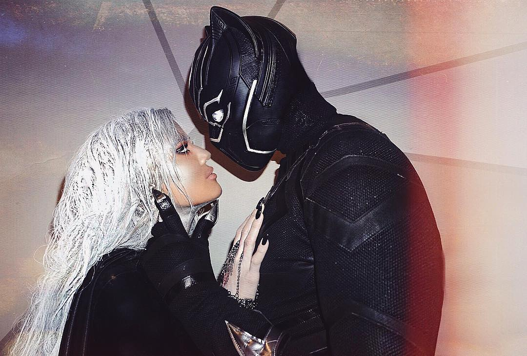 Khloe Kardashian and Tristan Thompson make their relationship ~Instagram official~ for Halloween