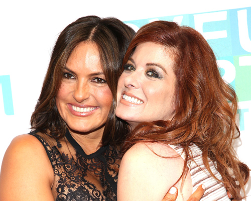 Mariska Hargitay and Debra Messing spent Halloween together with the most epic hair-costumes