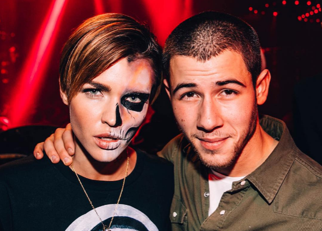 "We love Ruby Rose's ""take"" on the ~sexy halloween costume~"
