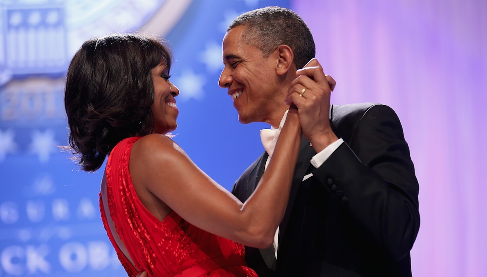 Michelle And Barack Obama Tried To Do The Quot Thriller Quot Dance