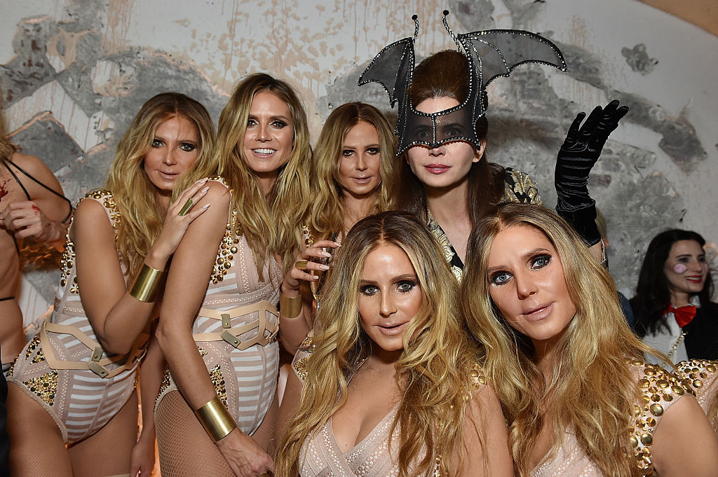 Here are our favorite spooky fabulous details from Heidi Klum's Halloween party