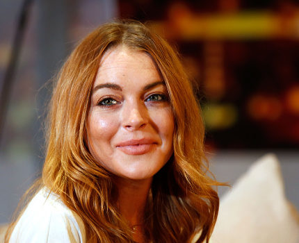 Lindsay Lohan seriously got into character with her comic book-inspired Halloween costume