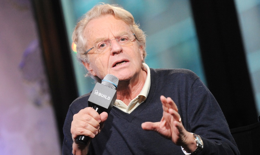 Jerry Springer got real about his infamous talk show, and hey, props for honesty