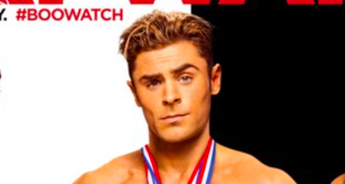"Zac Efron and the ""Baywatch"" reboot cast stripped down for Halloween and we're cool with it"