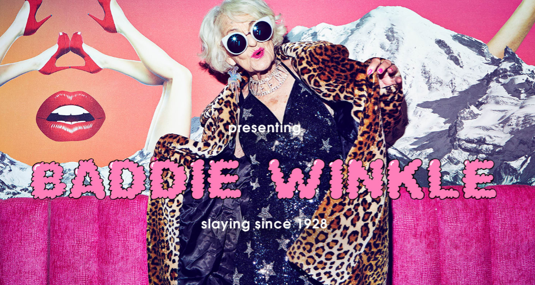 Badass grandma Baddie Winkle just got her own Missguided campaign and it's *everything*