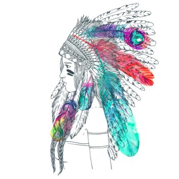 But no really: We need to talk about the cultural appropriation of headdresses on Halloween