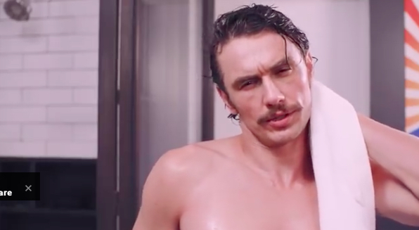 James Franco is back with another Clinton endorsement video and we're all ears