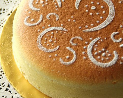 Japanese ~air cheesecake~ is all over Pinterest and we want to try it ASAP