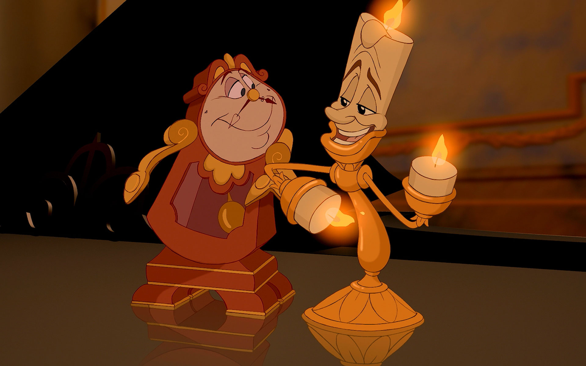 Sacré Bleu, The First ~official~ Pictures Of Lumiere And