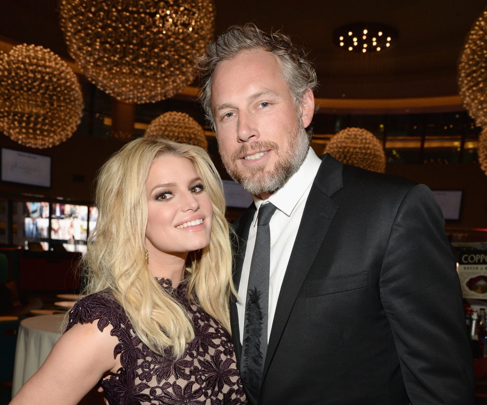 Jessica Simpson and her husband celebrated their anniversary in the sweetest way