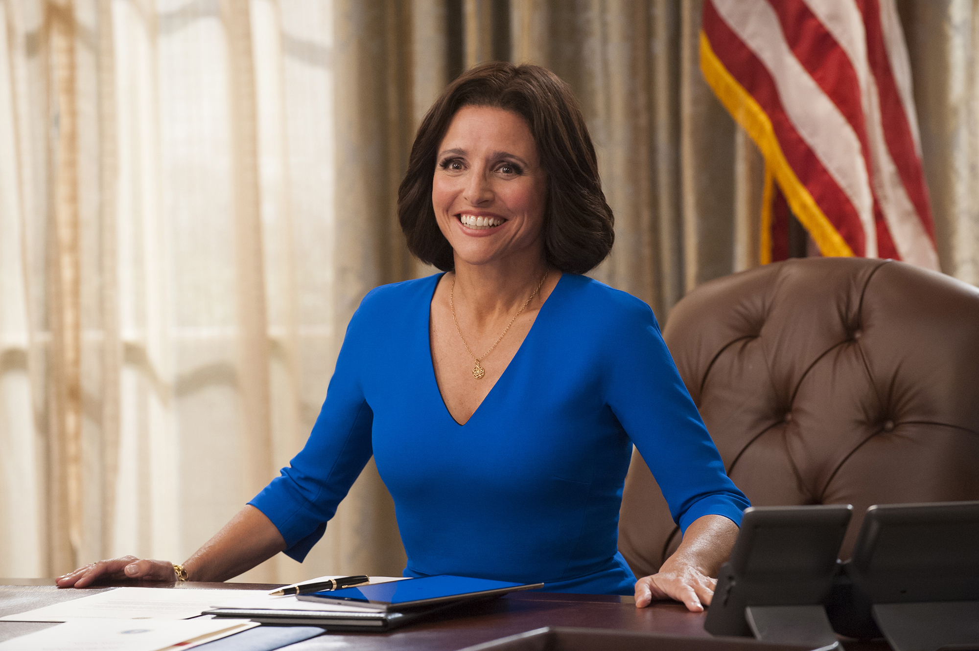 Julia Louis-Dreyfus talks to millennials about voting for HRC in this super funny, super Julia Louis-Dreyfusy PSA