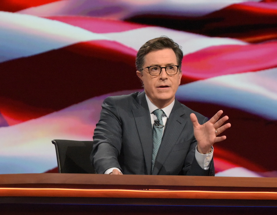 Stephen Colbert is pretty f-ing excited about his Showtime election special