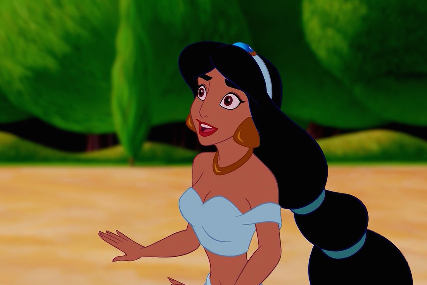 This woman looks like an irl princess jasmine the internet is understandably freaking out - Princesse jasmine disney ...
