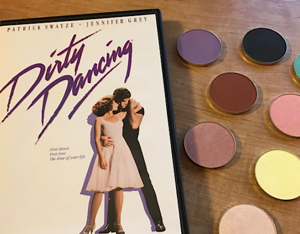 "The shade names in Sola Look's upcoming ""Dirty Dancing"" palette is sure to amuse fans of the film"