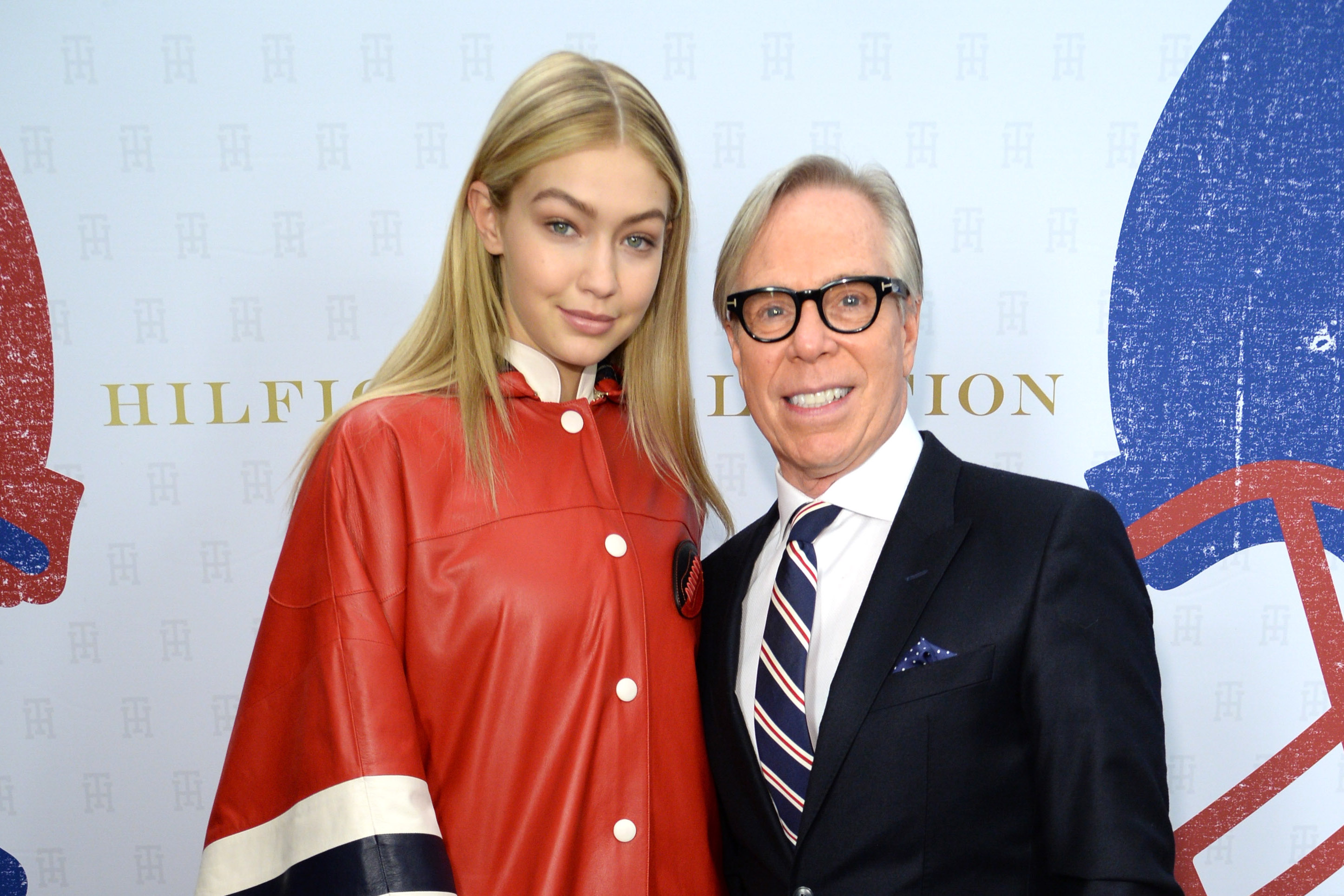 Tommy Hilfiger reveals the reason Gigi Hadid rocked his runway in a poncho & the answer will shock you