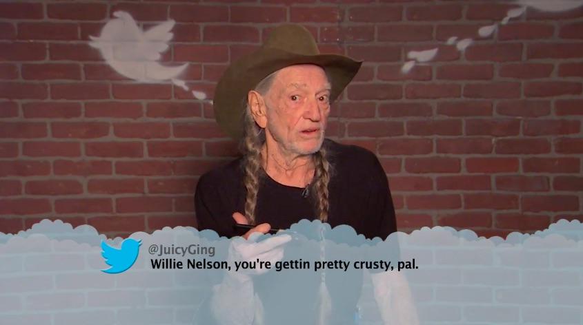 """Jimmy Kimmel had a """"Mean Tweets"""" country music star edition, and this never gets old"""