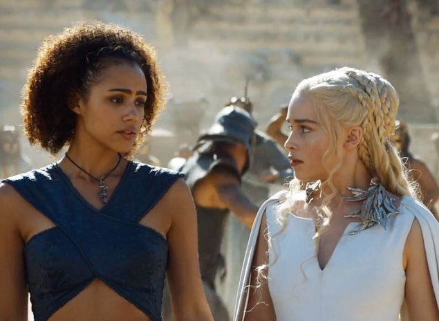 Emilia Clarke and Nathalie Emmanuel hang out IRL, look like the most fashionable of friends