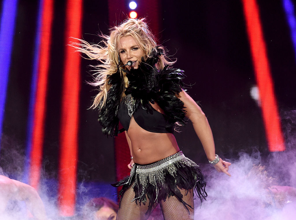"""Britney Spears did a spoken word performance of the iconic """"I'm a bitch, I'm a mother..."""" song and she SLAYED"""