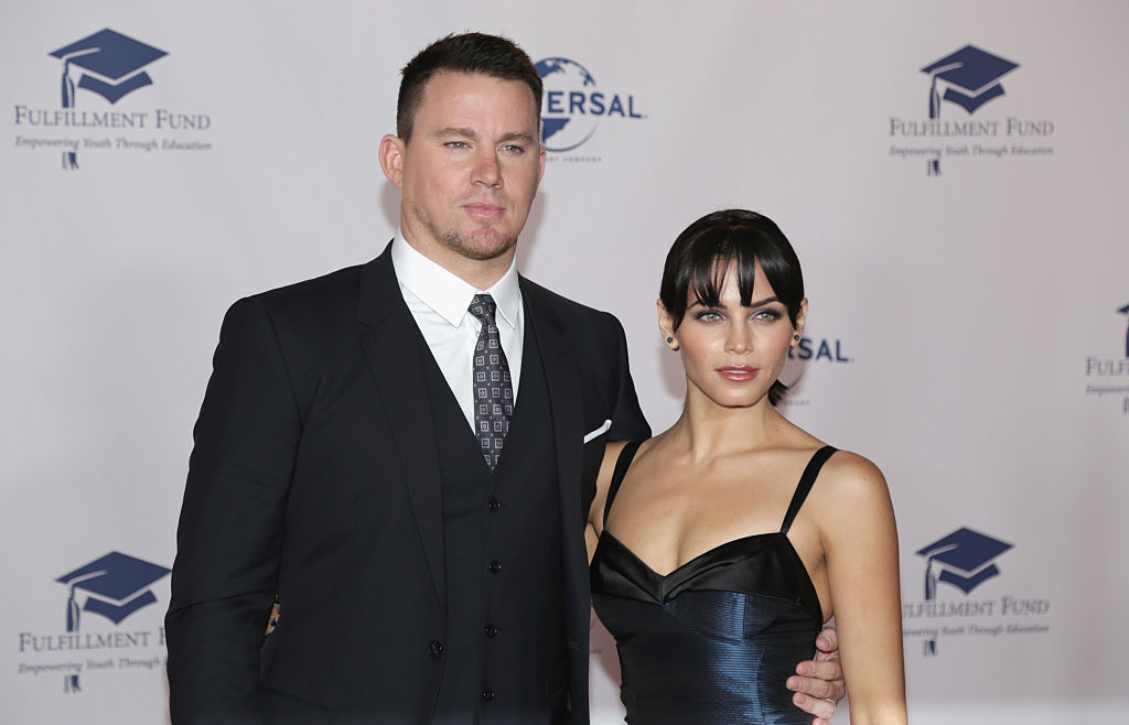 Jenna Dewan Tatum was *made* to wear midnight blue - see her whole ~lewk~