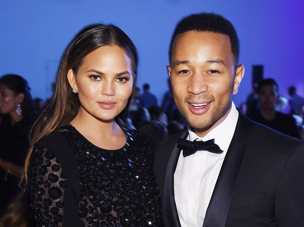 Chrissy Teigen explains what it was like working with John Legend's exes