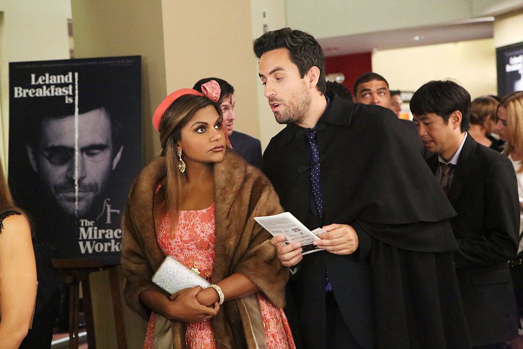 Mindy Kaling and her co-star Ed Weeks have a new sitcom about a lesbian couple