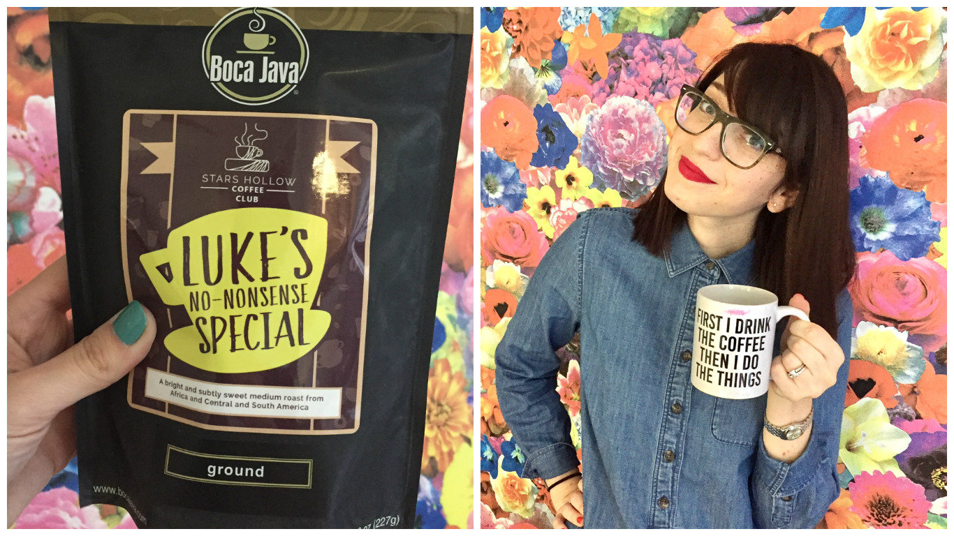 "We tried the ""Gilmore Girls"" coffee, and it's so good it'll make Luke proud"