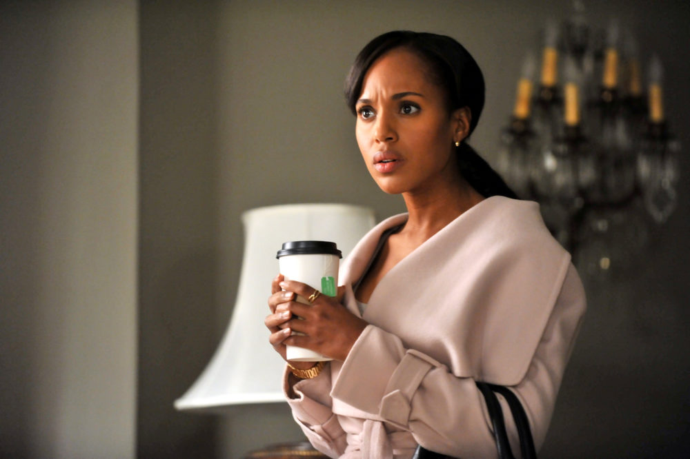 "Kerry Washington just posted a ""Scandal"" cast photo with a twist, and now we have so many questions"