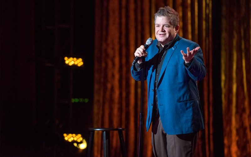 Patton Oswalt joked about his wife's death in first headlining show since she died, and you're definitely about to cry