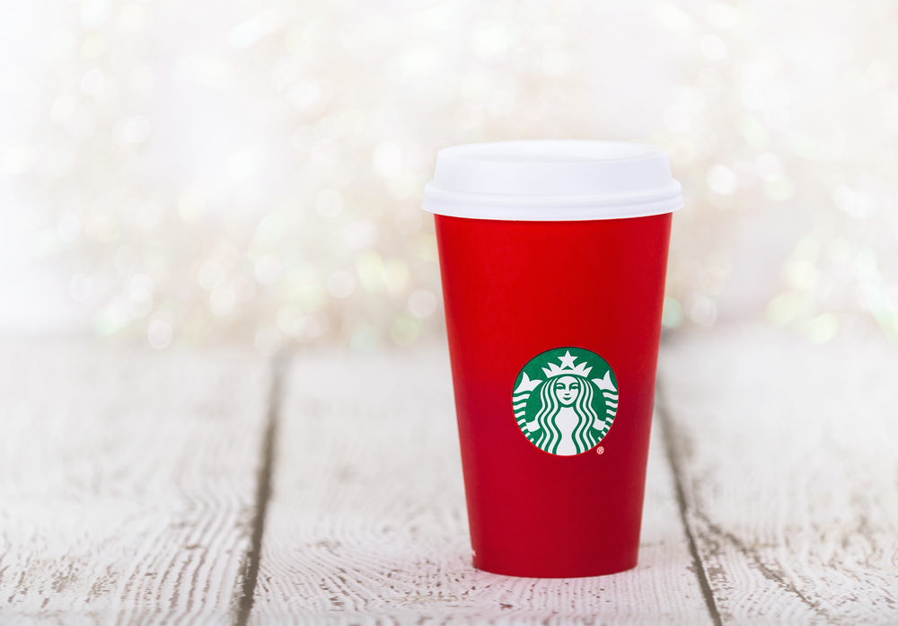 Starbucks red holiday cups are coming back sooner thank you think, so mark your calendars