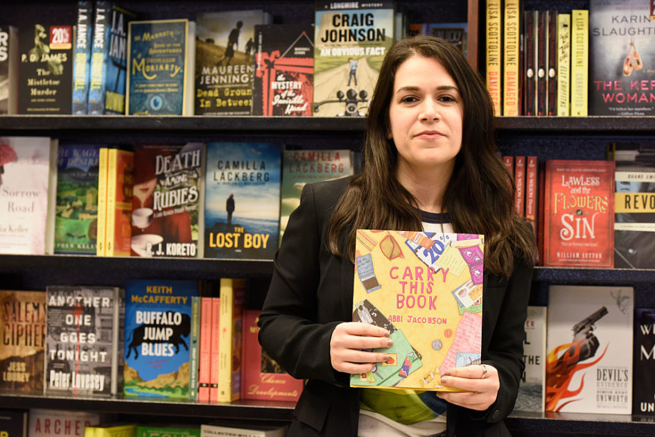 "Abbi Jacobson from ""Broad City"" wrote a visual book, and here's what she has to say about it"