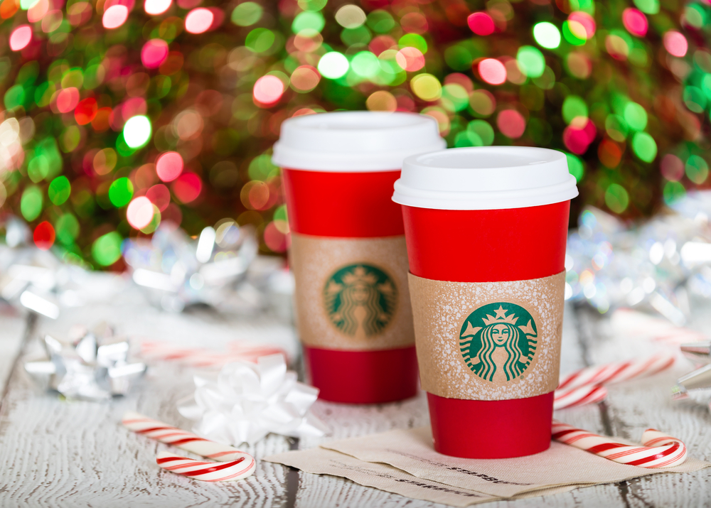 There may be more than one Starbucks red holiday cup design, according to these new leaked photos