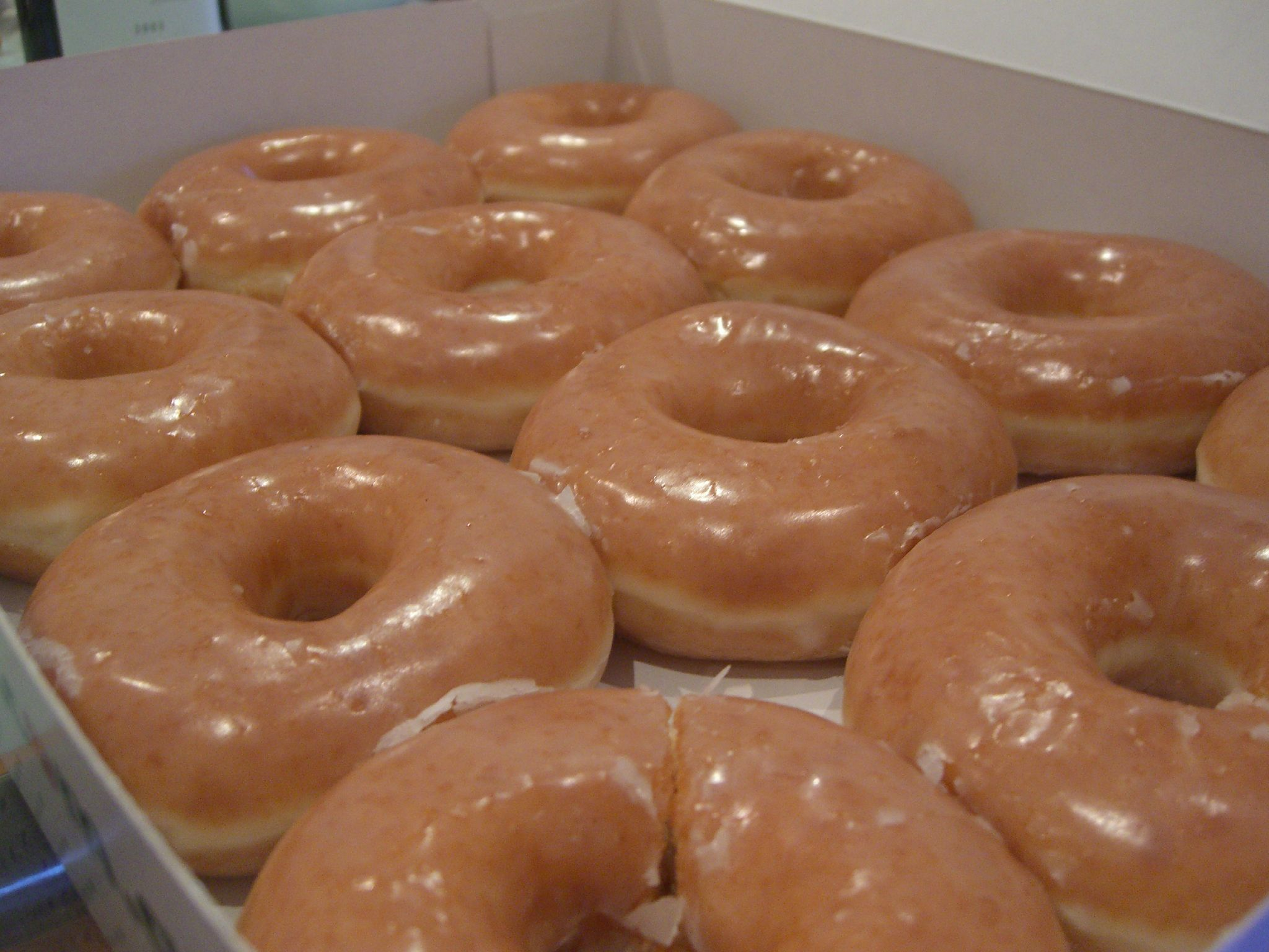 Krispy Kreme is giving away free donuts next week for basically the best reason ever