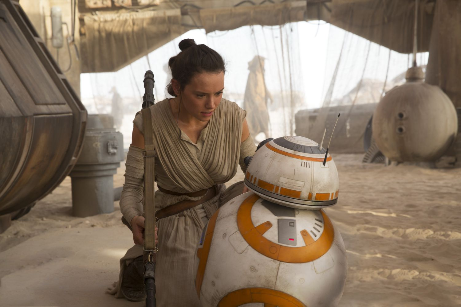 "J.J. Abrams just debunked this popular Rey theory from ""Star Wars: Force Awakens"" and we're bummed"