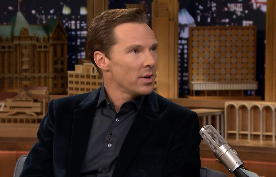 Benedict Cumberbatch revealed to Jimmy Fallon that his first kiss was underwater, and, sigh