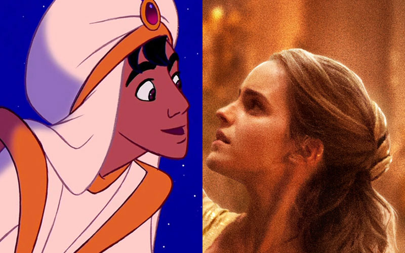 "The adorably subtle nod to ""Aladdin"" you may have missed in the new ""Beauty and the Beast"" photos"