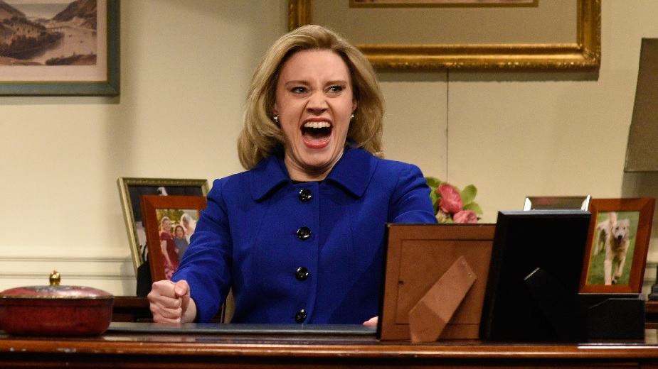 Hillary Clinton admitted that Kate McKinnon makes her second-guess herself