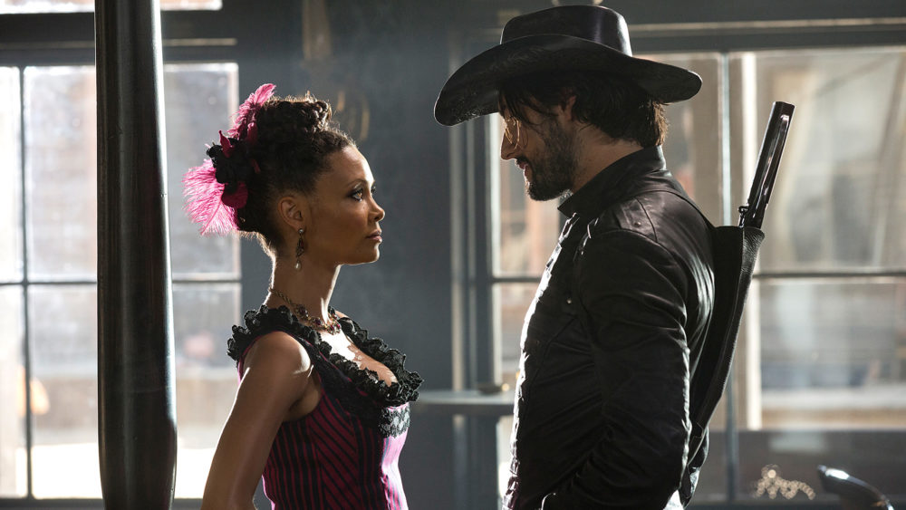 "Whoa, it turns out ""Westworld"" has costumes that are just as futuristic as the show"